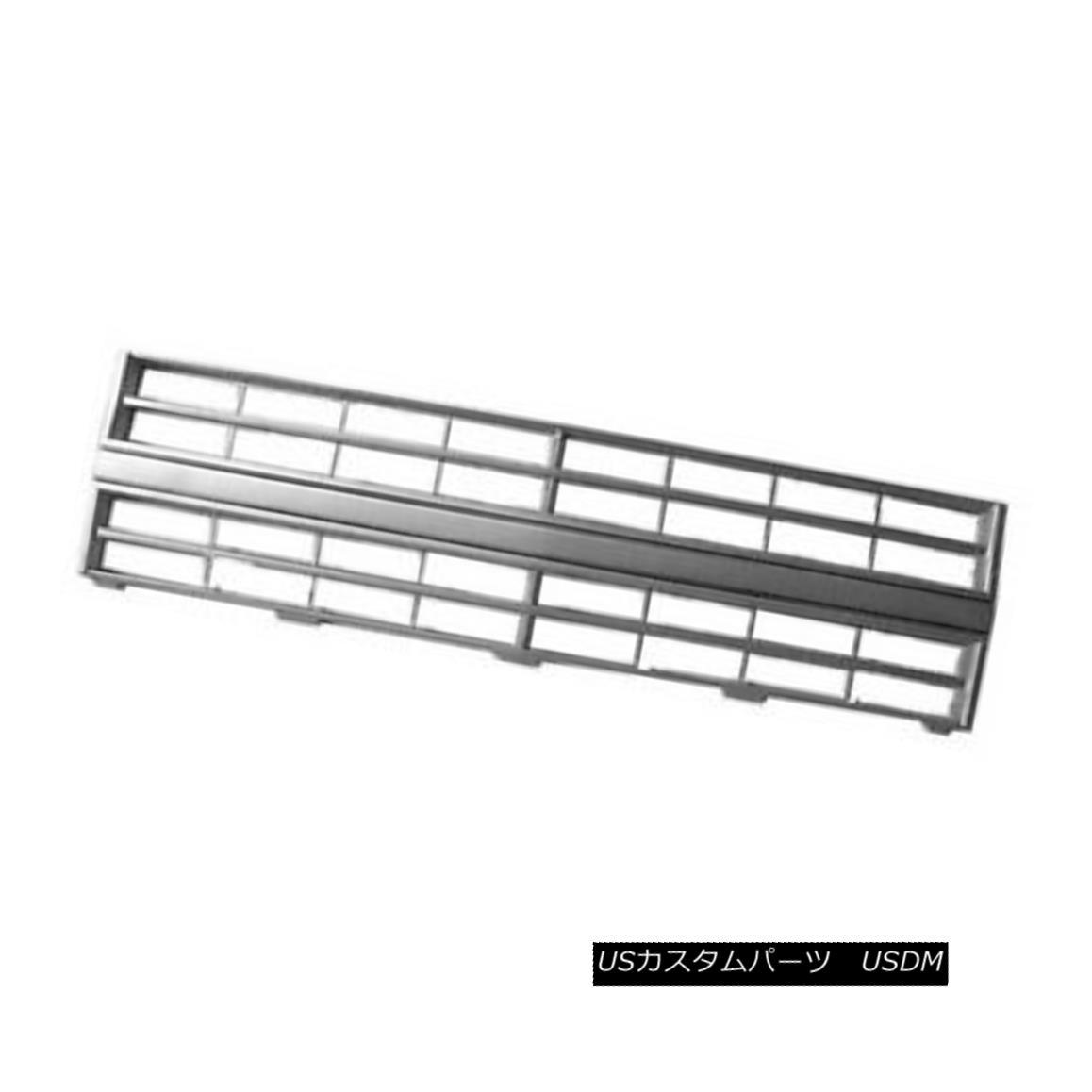 グリル New Grille Argent for Single Head Lamp Integral Center Molding 104-00724B Value シングルヘッドランプインテグラルセンターモールディングのための新しいグリルアルゼンチン104-00724B値