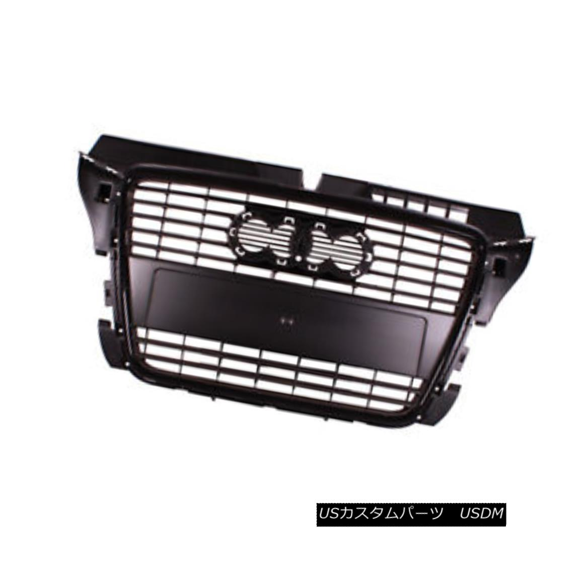 グリル New Replacement Front Grille Black 104-50862B 新しい交換用フロントグリルブラック104-50862B