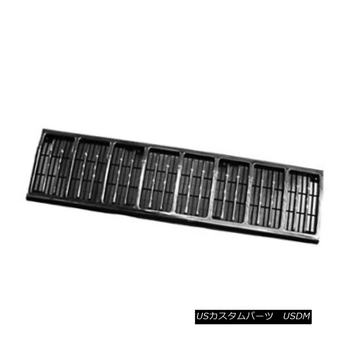 グリル New Replacement Grille Chrome & Black 104-00768C 新しい交換用グリルクローム& 黒104-00768C