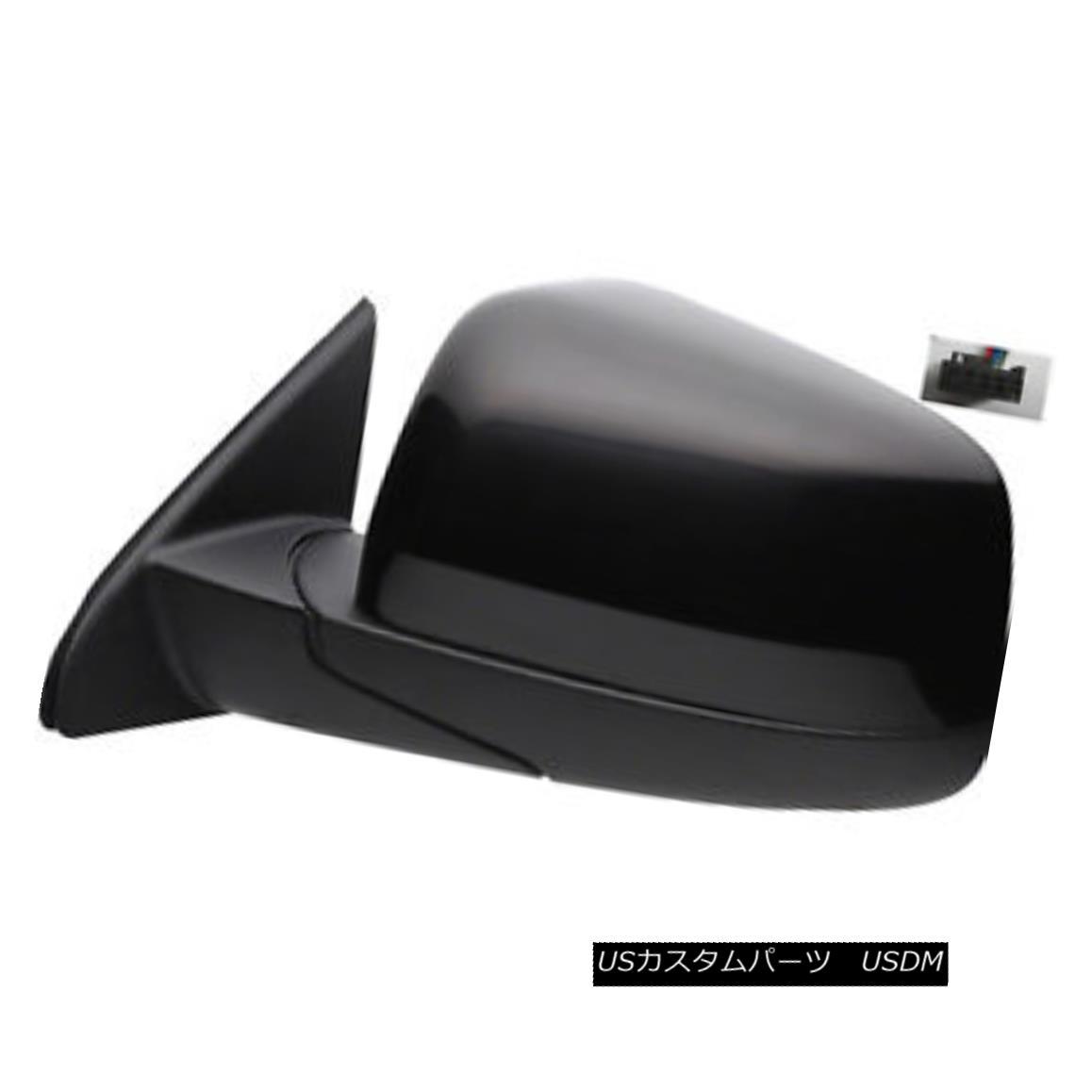 グリル New Left Driver Side Door Mirror - Power Adjust Heated Glass 128-02215L 新しい左の運転席のサイドミラー - パワー調整加熱ガラス128-02215L