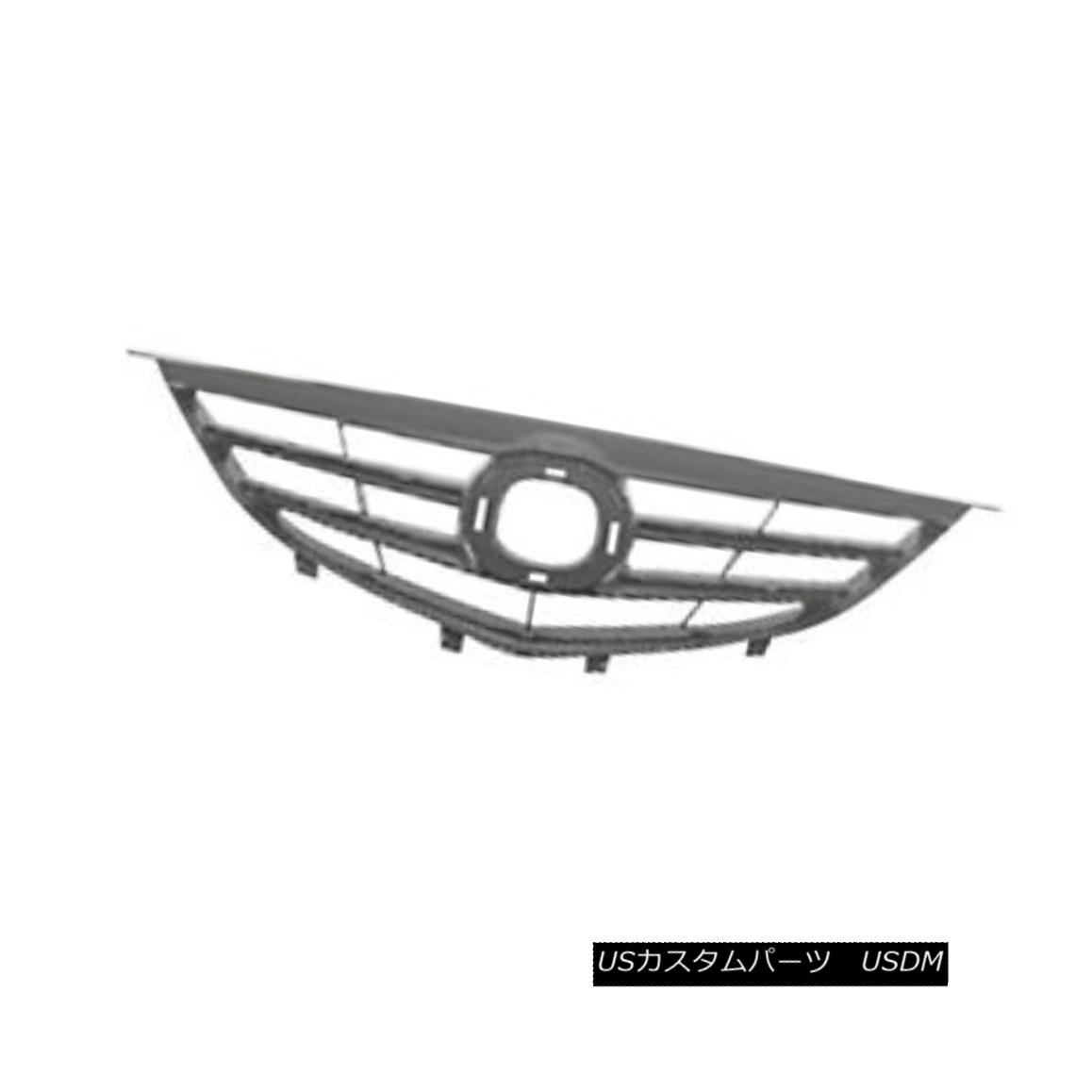 グリル Replacement Grille for 2004 2005 Mazda 6 Brand New 2004年の交換用グリル2005 Mazda 6 Brand New