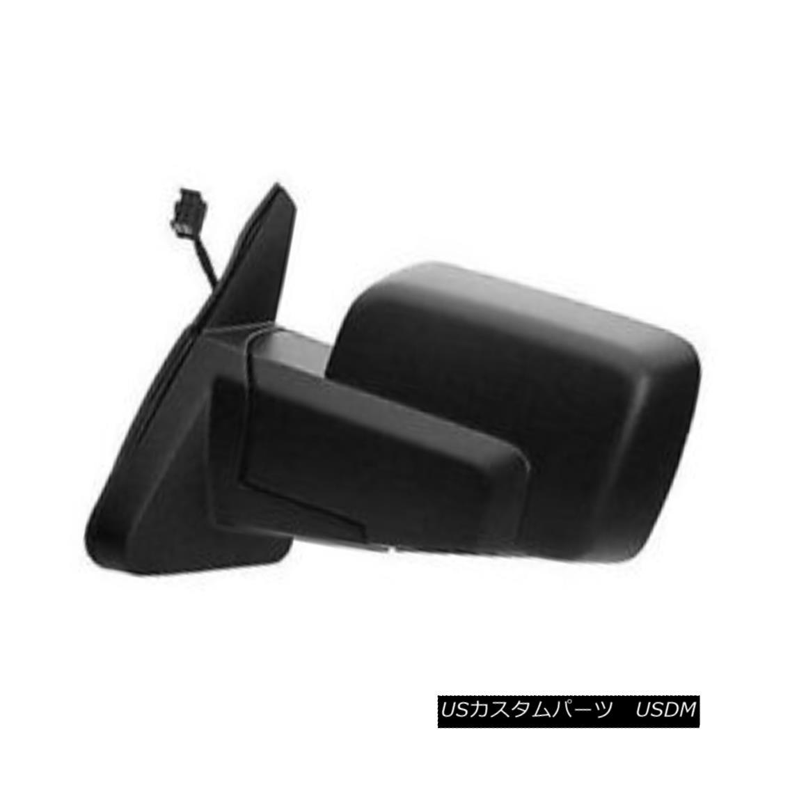グリル New Left Driver Side Door Mirror Power Heated Without Memory 128-01444L メモリなしで加熱された新しい左ドライバサイドドアミラー128-01444L