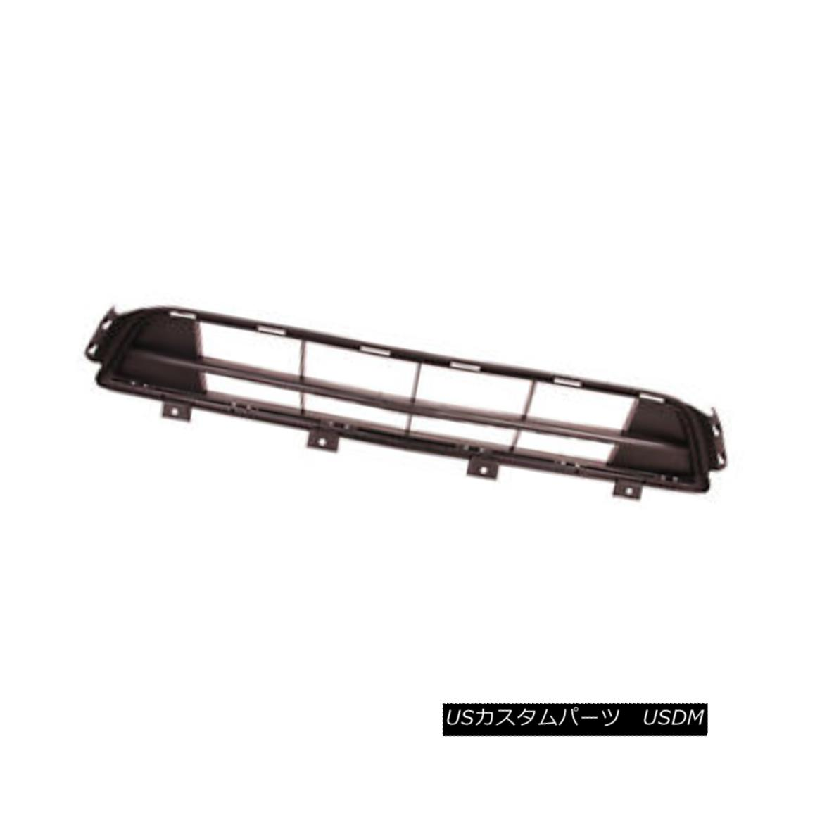 グリル New Replacement Front Bumper Cover Grille; Made Of Plastic 104-60062A CAPA 新しい交換用フロントバンパーカバーグリル; プラスチック製の104-60062A CAPA
