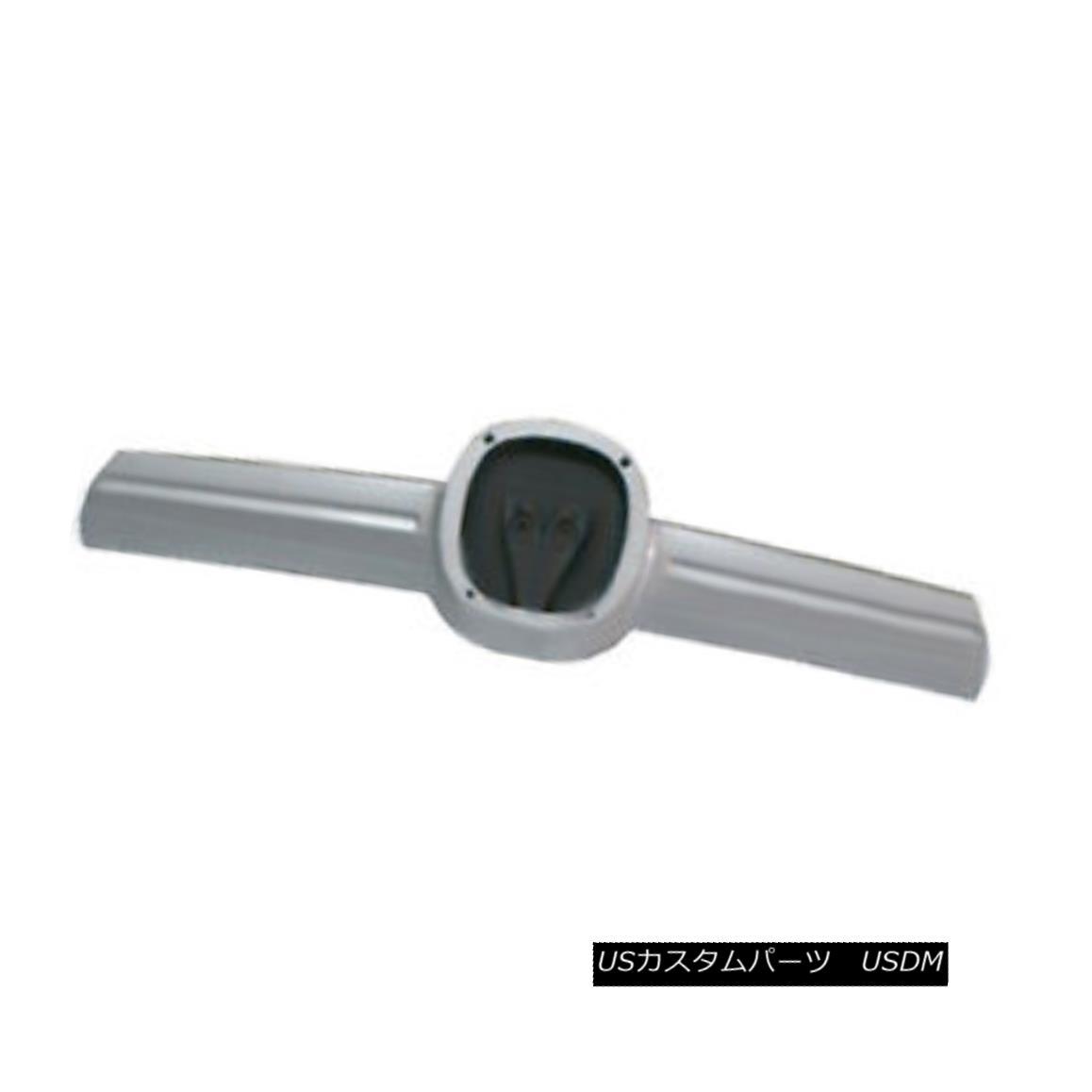 グリル New Replacement Grille Molding Silver & Grey 新しい交換用グリルモールディングシルバー& グレー