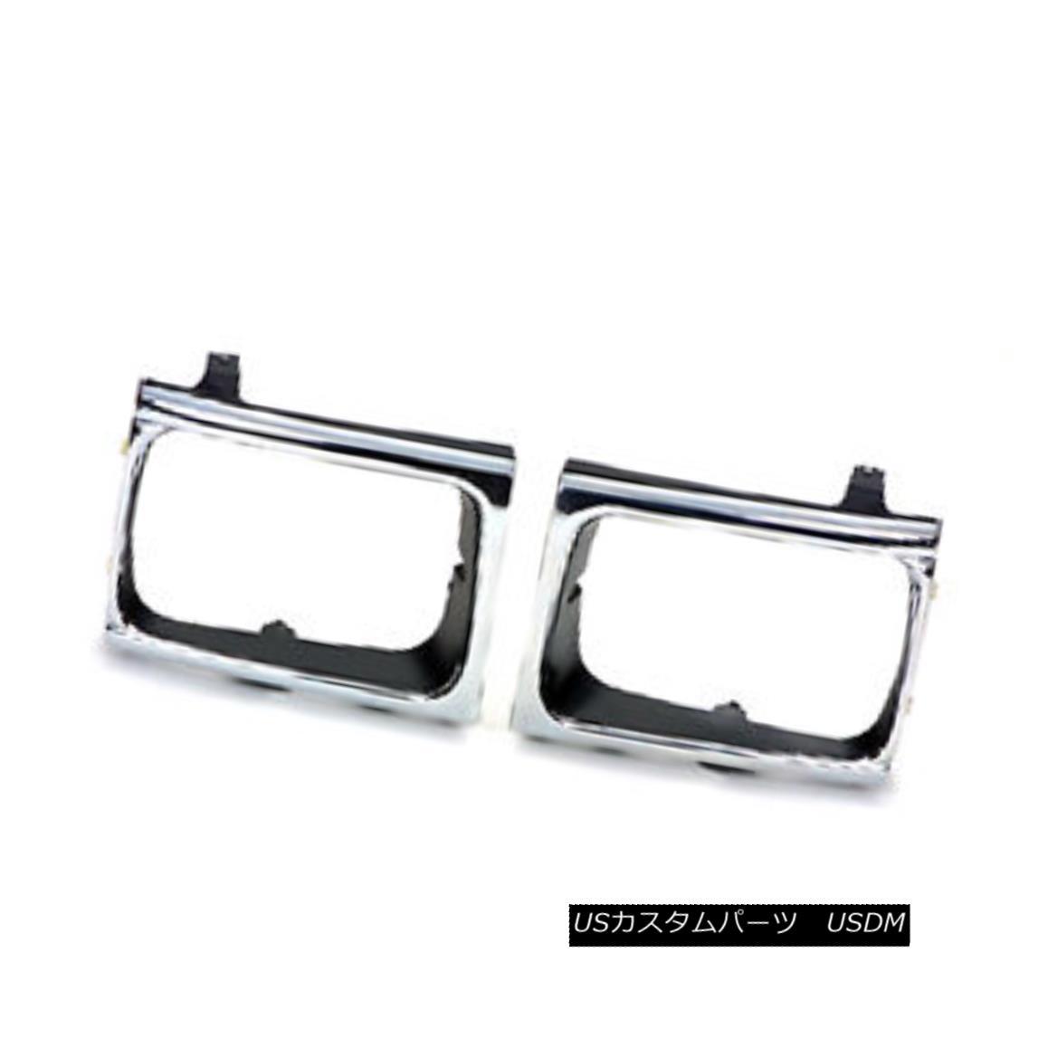 グリル Replacement Headlight Door Chrome Passenger Side for 4 wheel drive 630-50119AR 4輪駆動用630-50119ARのための代替ヘッドライトドアクロームの旅客側