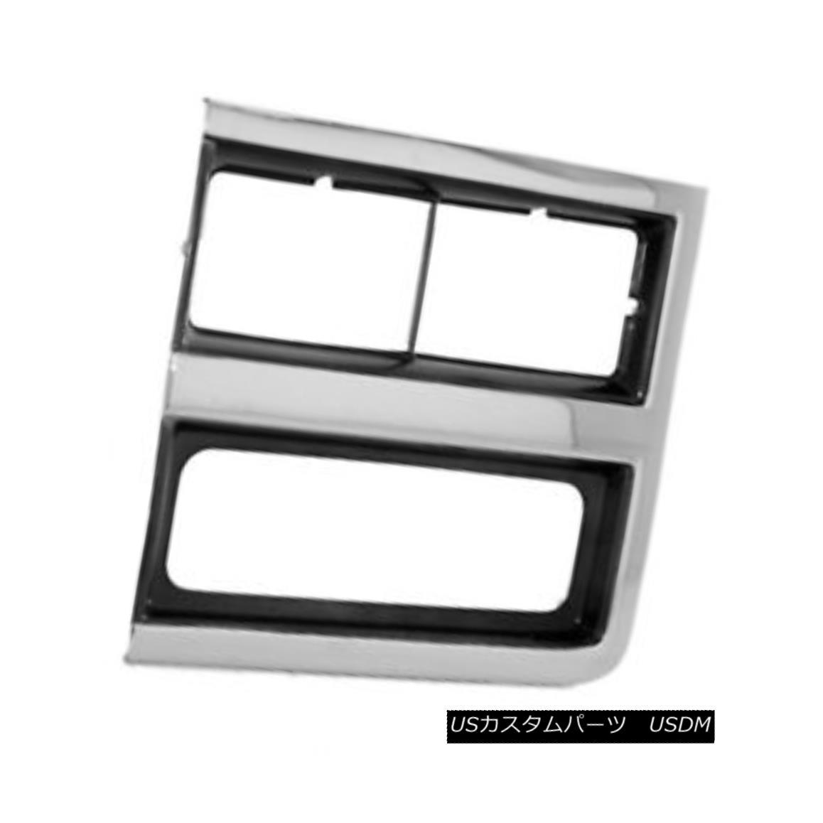 グリル New Replacement Headlight Door Driver Side for Dual Lamps Rectangular 630-00931L デュアルランプ直角630-00931L用の新しい交換ヘッドライトドアドライバ側