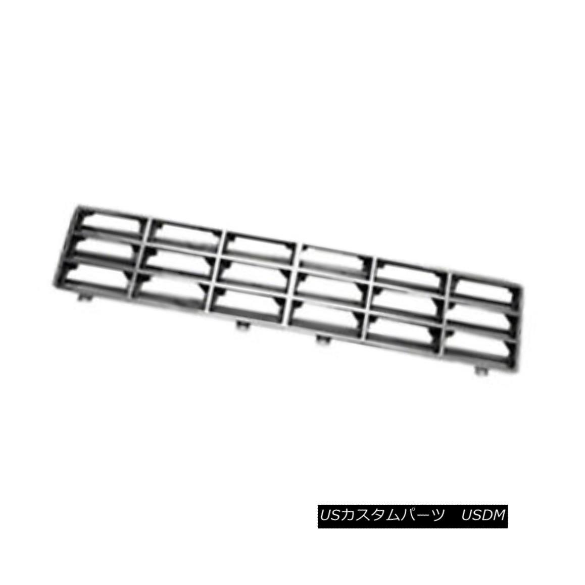 グリル New Replacement Front Grille Chrome & Silver 104-01383C 新しい交換用フロントグリルクローム& シルバー104-01383C