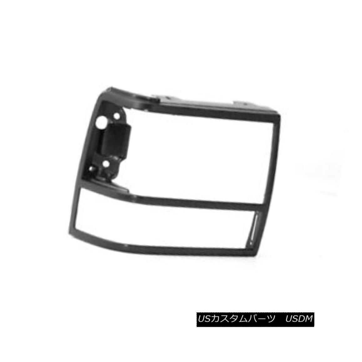 グリル New Replacement Headlight Door Black Passenger Side without GT 630-00924BR GT 630-00924BRなしの新しい交換ヘッドライトドア黒の旅客側