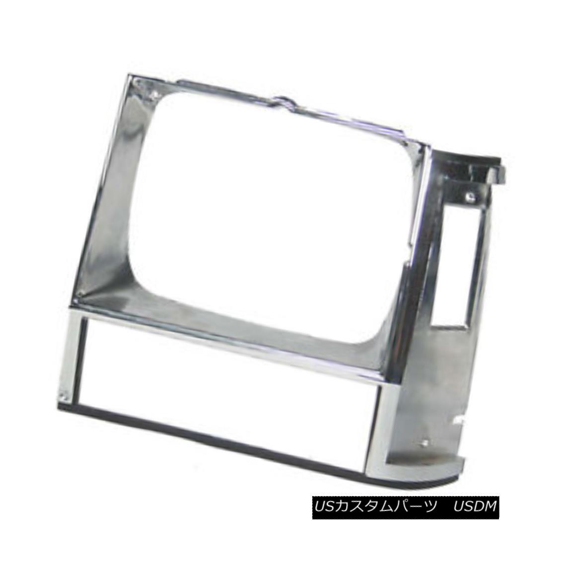グリル New Replacement Headlight Door Chrome Passenger Side for Single Lamp 630-00136AR シングルランプ630-00136ARのための新しい交換ヘッドライトドアのクロームの旅客側