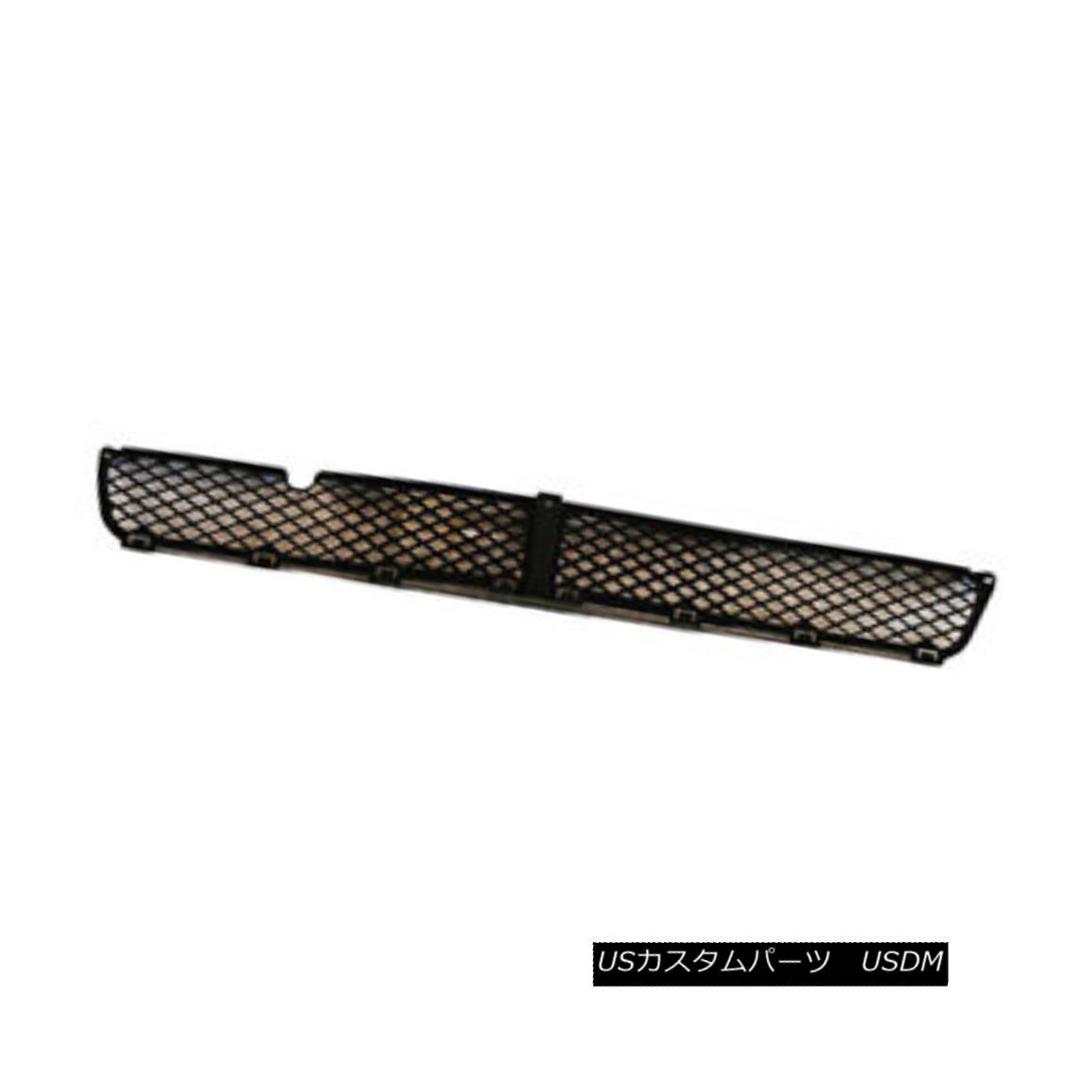グリル New Replacement Bumper Cover Grille Black Plastic 104-1486 新しい交換用バンパーカバーグリルブラックプラスチック104-1486