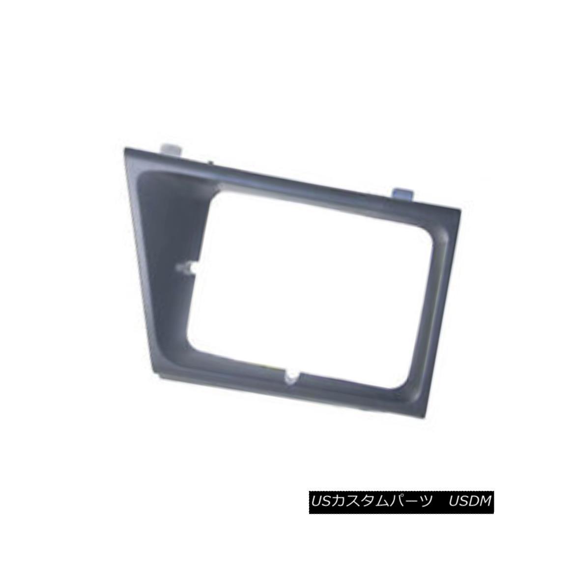 グリル Headlight Door Matte Grey Passenger Side Use w/Sealed Beam Lamps 630-00988R V ヘッドライトドアマットグレー助手席サイドシールドライト付き630-00988R V