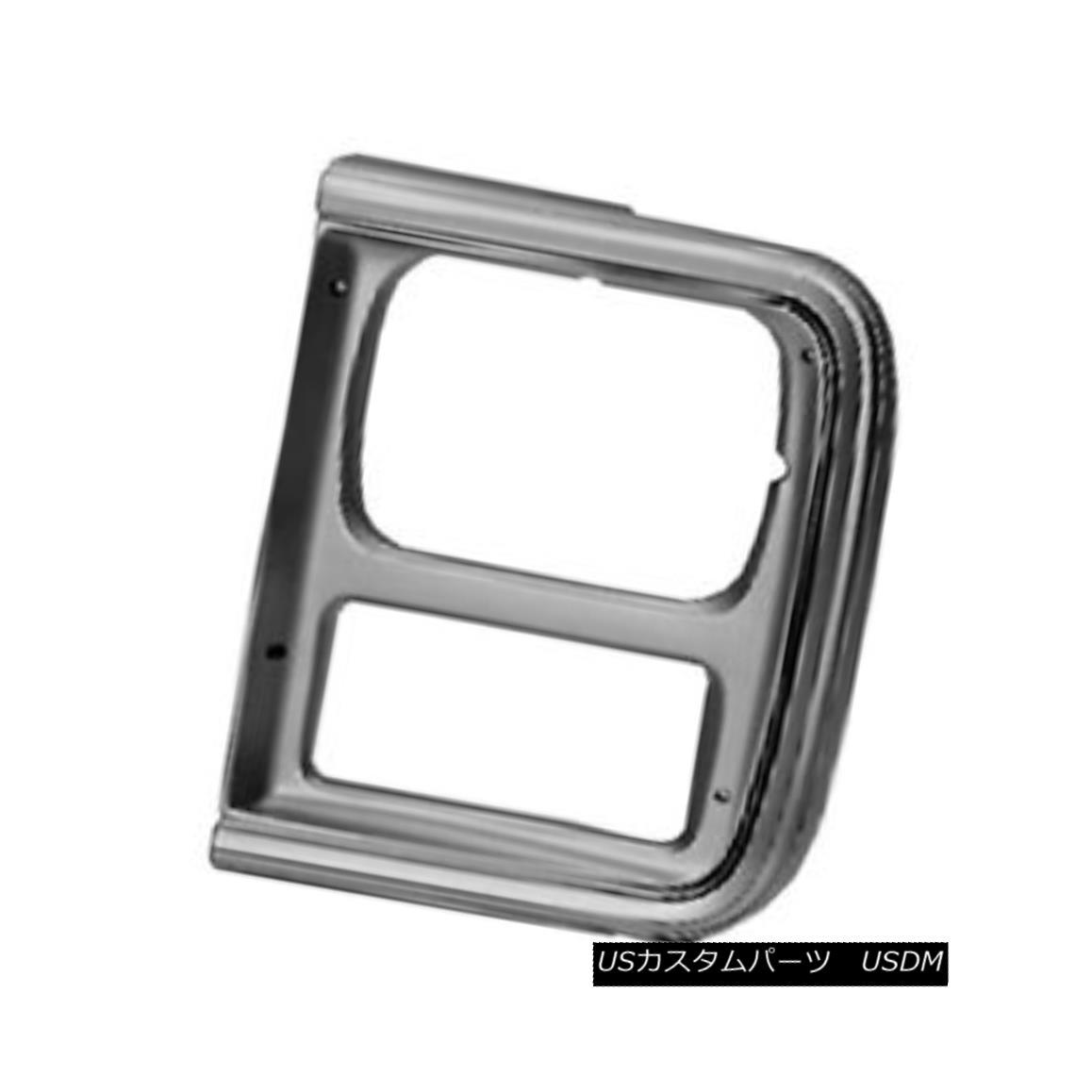 グリル New Replacement Headlight Door Silver Driver Side for Single Lamp 630-00857BL 単一のランプ630-00857BLのための新しい交換ヘッドライトドアシルバードライバ側