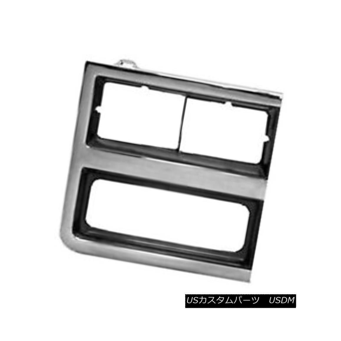 グリル Replacement Headlight Door Passenger Side for Dual Lamps Rectangular 630-00934R 二重ランプのための交換用ヘッドライトドア乗客側長方形630-00934R