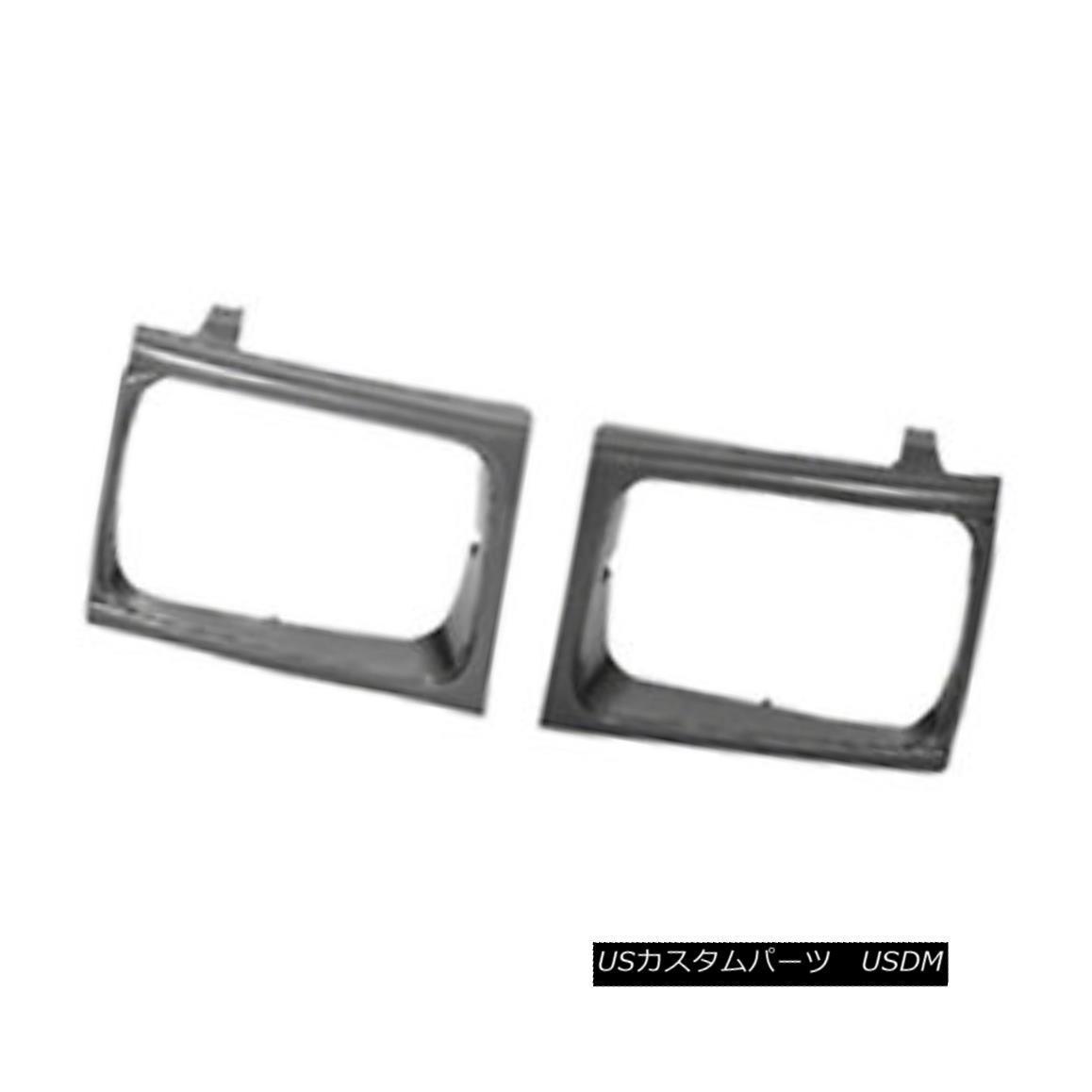 グリル New Headlight Door Silver & Black Driver Side for 4 wheel drive 630-50075D 新しいヘッドライトドアシルバー& 4輪駆動用黒ドライバサイド630-50075D