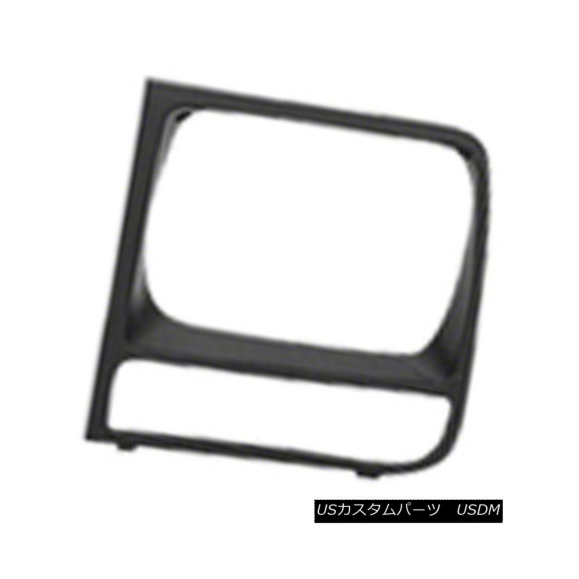 グリル New Headlight Door Flat Black Passenger Side for SE / SE Sport Models 630-00974R SE / SEスポーツモデル630-00974Rの新しいヘッドライトドアフラットブラック乗客側