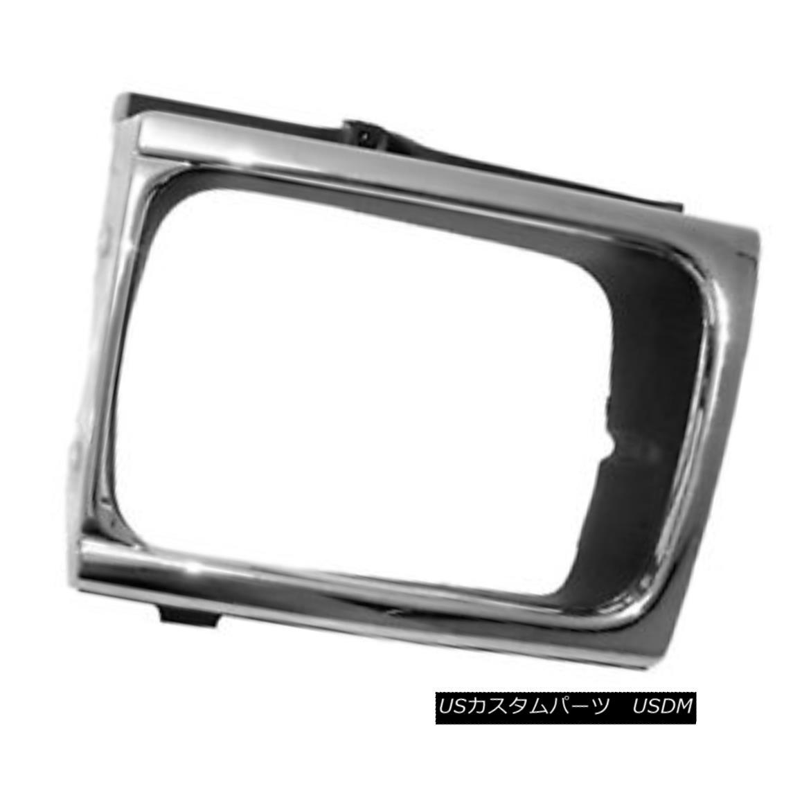グリル New Replacement Headlight Door Chrome Driver Side for 4 wheel drive 630-50119AL 新しい交換ヘッドライトドアクロームドライバサイド4輪駆動用630-50119AL