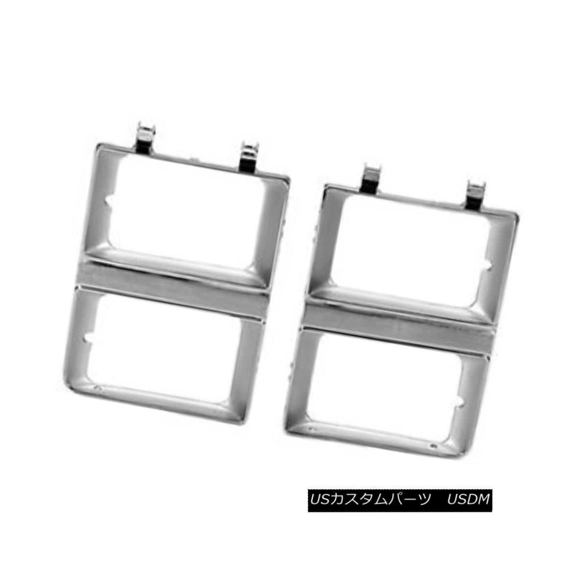 グリル New Headlight Door Driver Side for Dual Lamps Rectangular w/o Sport 630-00844BL デュアルランプ用の新しいヘッドライトドアのドライバーサイド長方形のスポーツなし630-00844BL