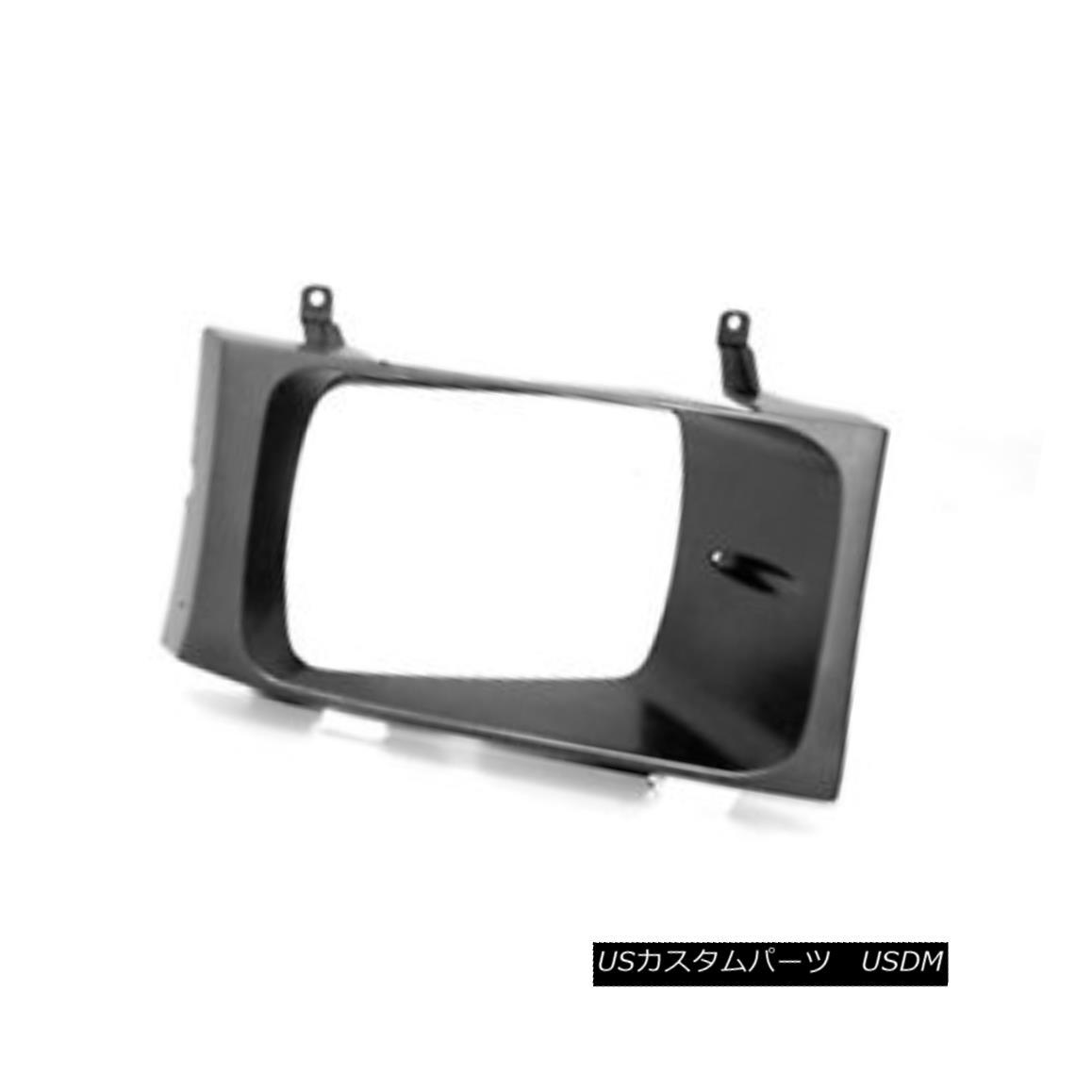 グリル New Replacement Headlight Door Passenger Side Use w/Sealed Beam Lamps 630-00986R 密閉式ビームランプ630-00986Rを使用した新しい交換ヘッドライトドア乗客側の使用