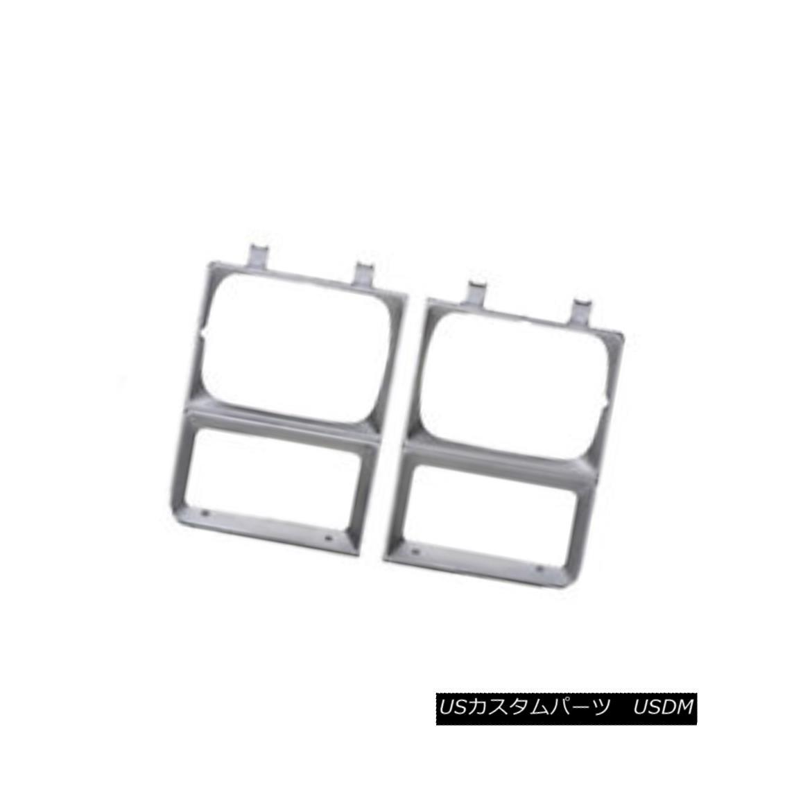 グリル New Replacement Headlight Door Driver Side for Single Lamp 630-00845L 単一のランプ630-00845Lのための新しい交換ヘッドライトドアドライバサイド