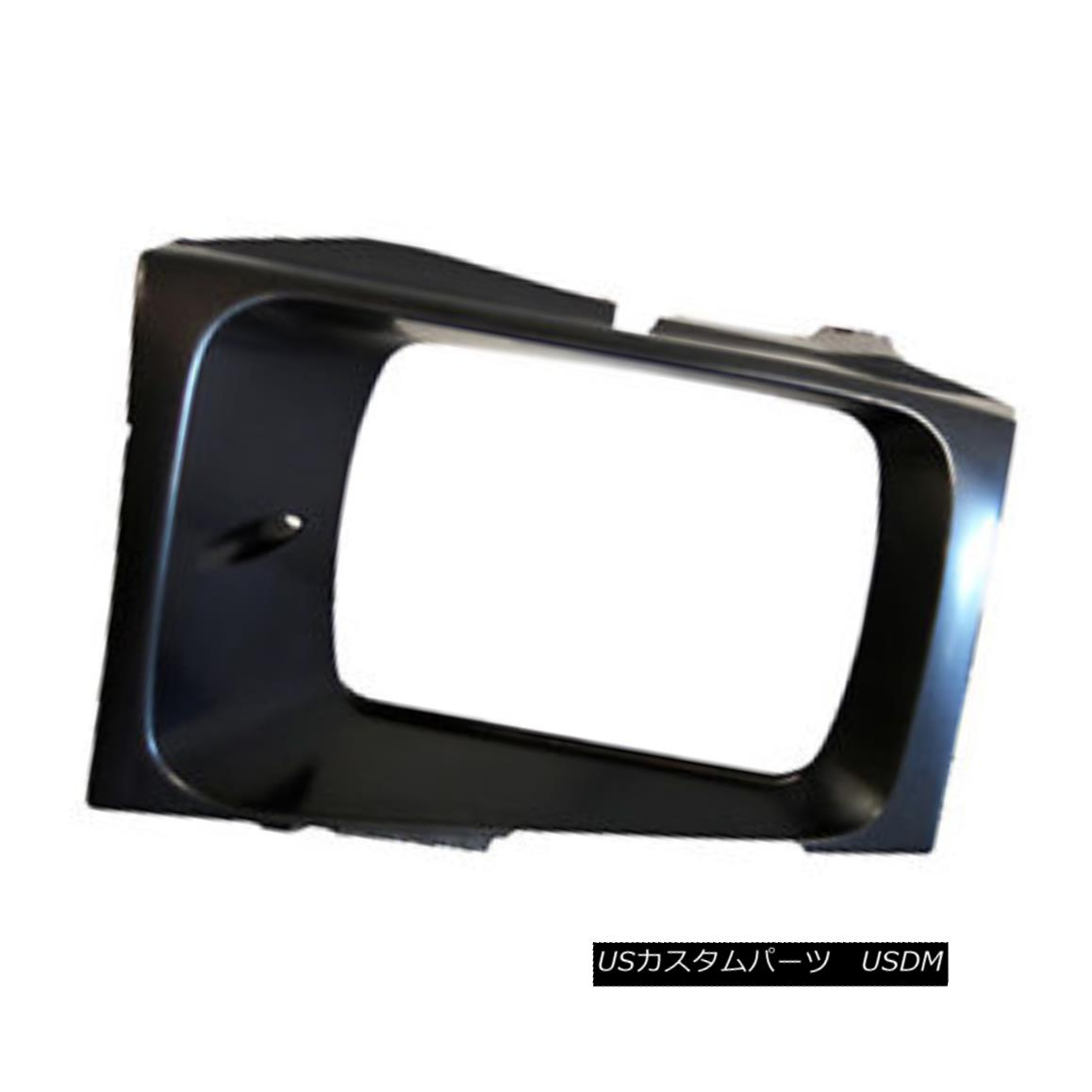 グリル New Replacement Headlight Door Driver Side Use with Sealed Beam Lamps 630-00986L 密閉されたビームランプ630-00986Lとの新しい交換ヘッドライトドアドライバ側の使用