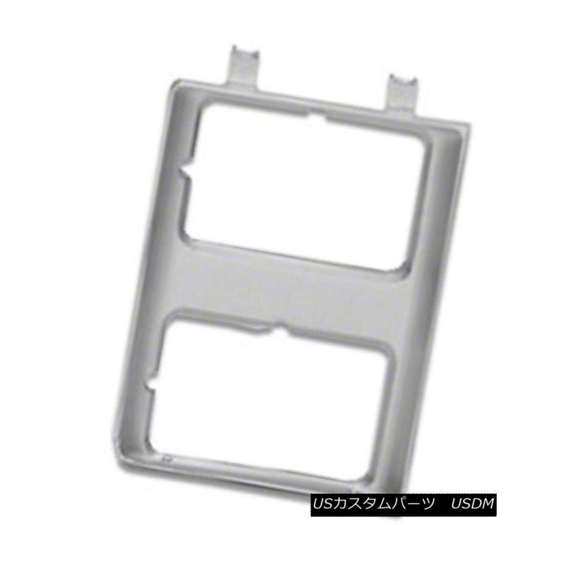グリル Headlight Door Silver Driver Side for Dual Lamps Rectangular 630-00848L Value デュアルランプ用ヘッドライトドアシルバードライバーサイド長方形630-00848L値