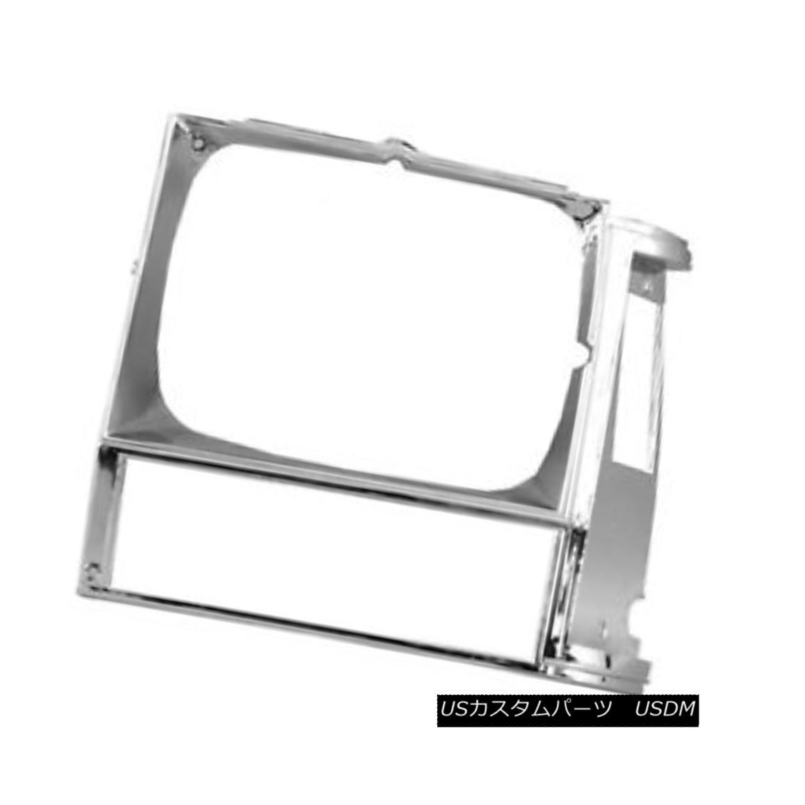 グリル New Replacement Driver Side Headlight Door Chrome 630-00136AL 新しい交換用ドライバサイドヘッドライトドアクローム630-00136AL