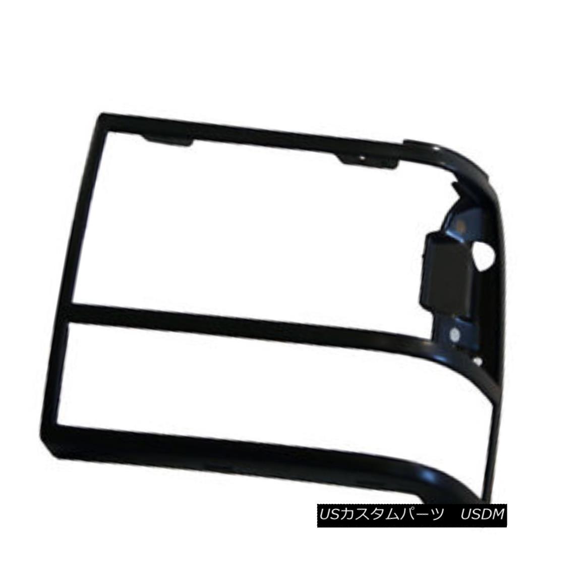 グリル New Replacement Headlight Door Black Driver Side without GT 630-00924BL GT 630-00924BLなしの新しい交換ヘッドライトドアブラックドライバ側