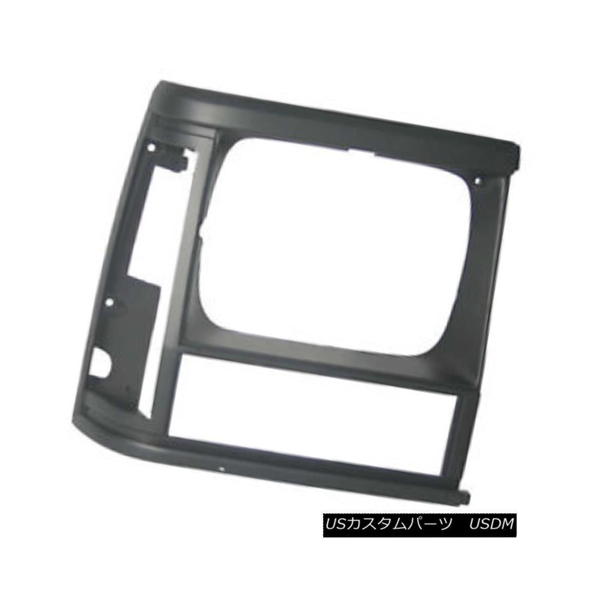 グリル New Replacement Headlight Door Black Passenger Side for Single Lamp 630-00972B 単一のランプ630-00972Bのための新しい交換ヘッドライトドア黒の旅客側