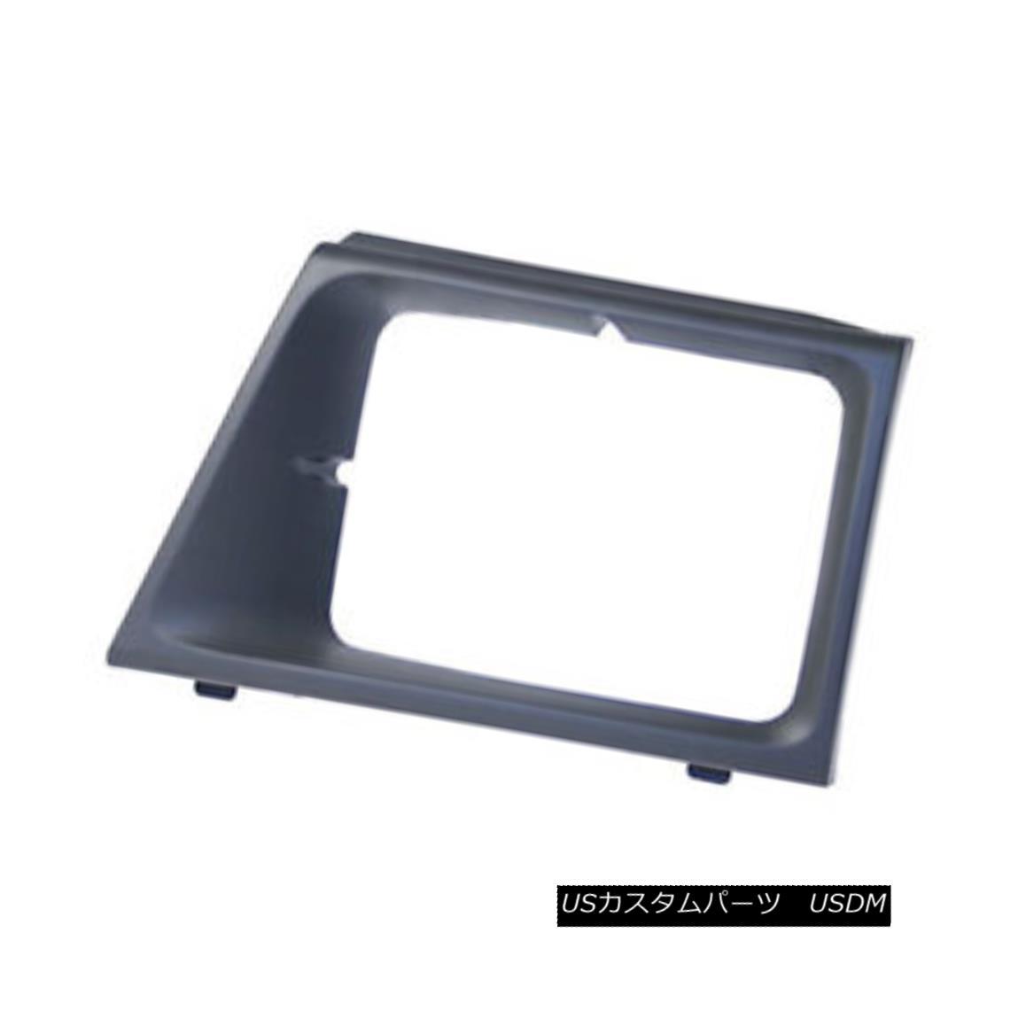 グリル New Headlight Door Matte Grey Driver Side Use w/Sealed Beam Lamps 630-00989L 新しいヘッドライトドアマットグレードライバーサイドシールド付きシールドランプ630-00989L
