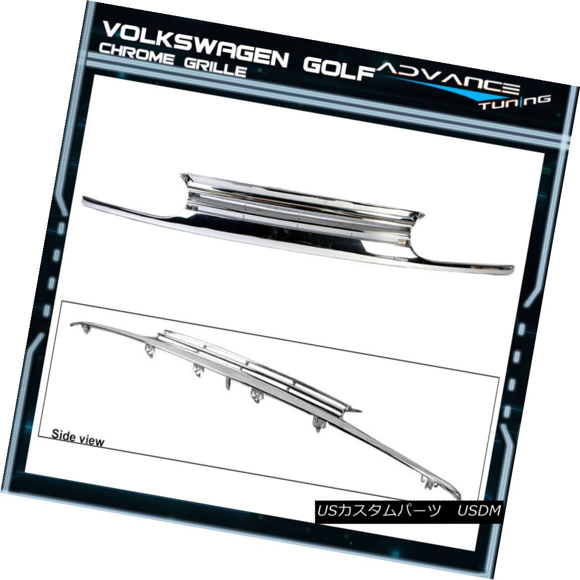グリル For 93-98 Volkswagen VW Golf Mk3 Chrome Grill Grille 93-98フォルクスワーゲンVWゴルフMk3クロームグリルグリル