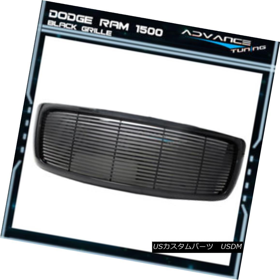 グリル For 02-05 Ram 1500 03-05 Ram 2500 3500 Z Style Mesh Front Grille ABS 02-05用Ram 1500 03-05 Ram 2500 3500 ZスタイルメッシュフロントグリルABS