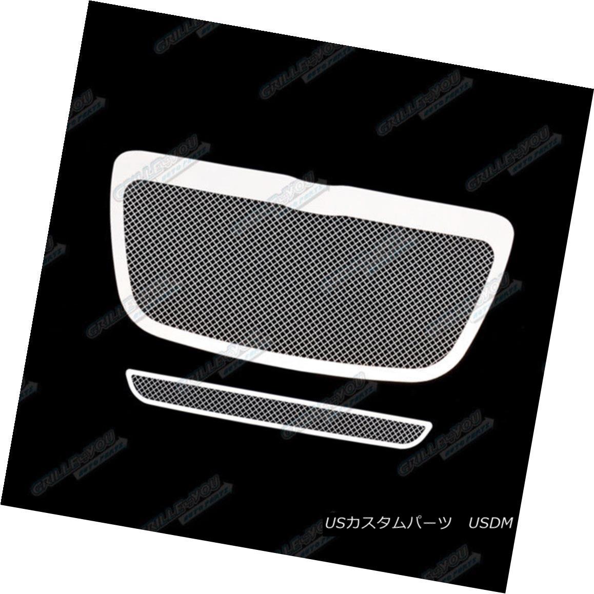 Custom Fits 2011-2012 Chrysler 300//300C Stainless Steel Mesh Grill Combo