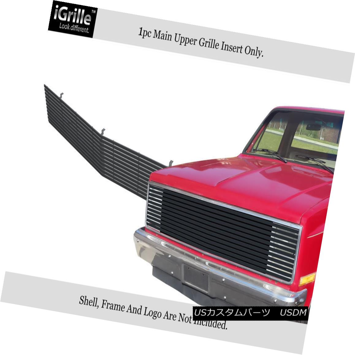 グリル 81-87 Chevy GMC Pickup/Suburban/Blazer/Jimmy Phantom Black Wide Billet Grille 81-87 Chevy GMC Pickup / Suburba n / Blazer / Jimmy Phantom Black Wide Billet Grille