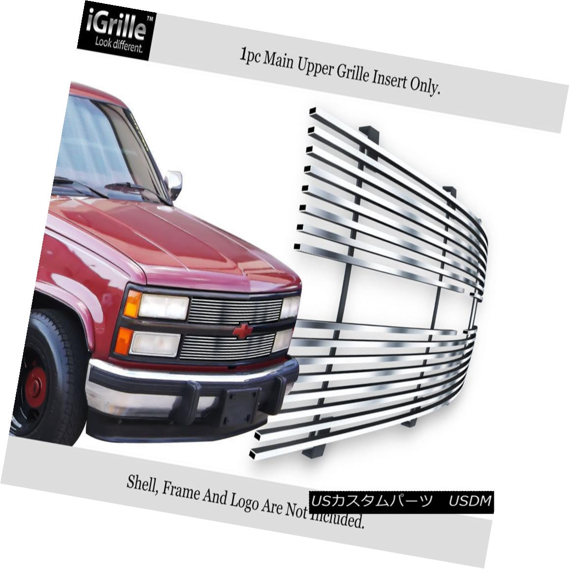 グリル For 88-93 Chevy C/K Pickup/Suburban/Blazer Stainless Steel Billet Grille 88-93 Chevy C / K Pickup / Suburba / Blazerステンレス鋼ビレットグリル