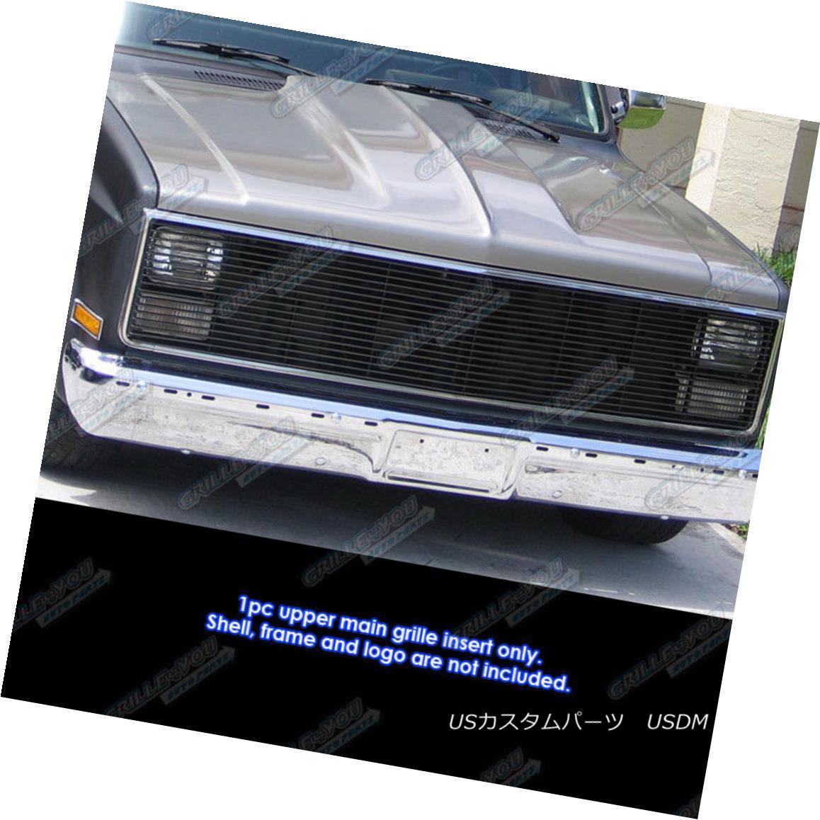 グリル 81-87 Chevy GMC Pickup/Suburban/Blazer/Jimmy Phantom Black Billet Grille Grill 81-87 Chevy GMC Pickup / Suburba n / Blazer / Jimmy Phantomブラックビレットグリルグリル
