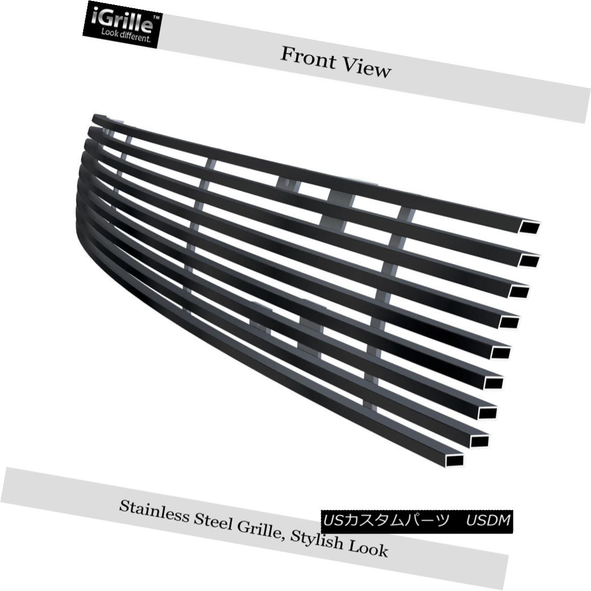 FITS HYUNDAI SANTA FE 2007-2009 STAINLESS CHROME BILLET GRILLE OVERLAY PACKAGE