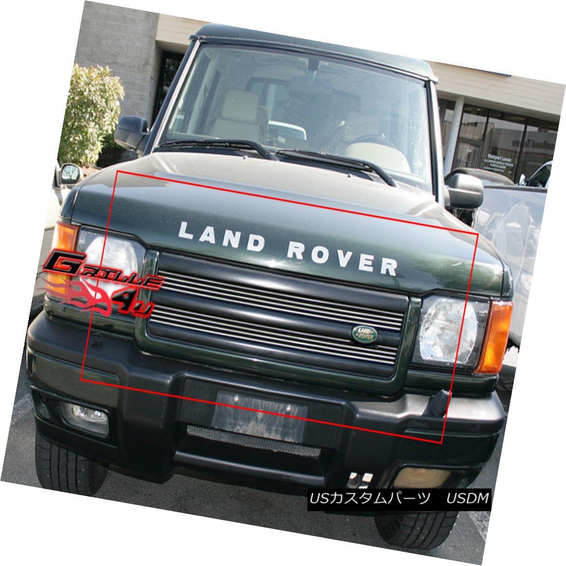 グリル Fits 1999-2002 Land Rover Discovery Main Upper Billet Grille Insert 1999-2002 Land Rover Discoveryメインアッパービレットグリルインサート