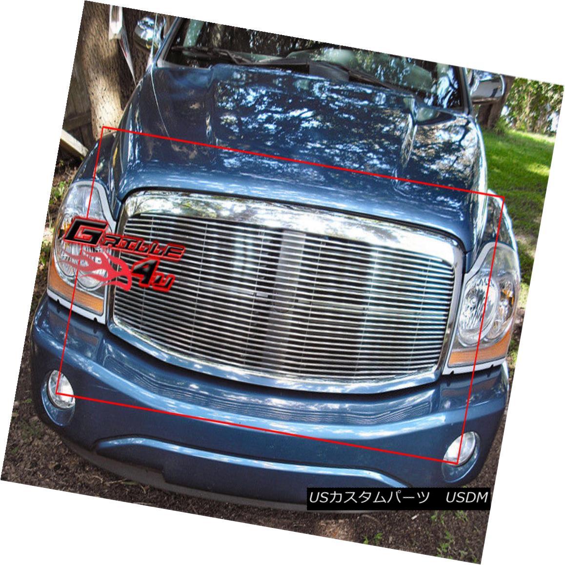 グリル Fits 2004-2006 Dodge Durango Main Upper Billet Grille Insert 2004-2006 Dodge Durangoメインアッパービレットグリルインサート