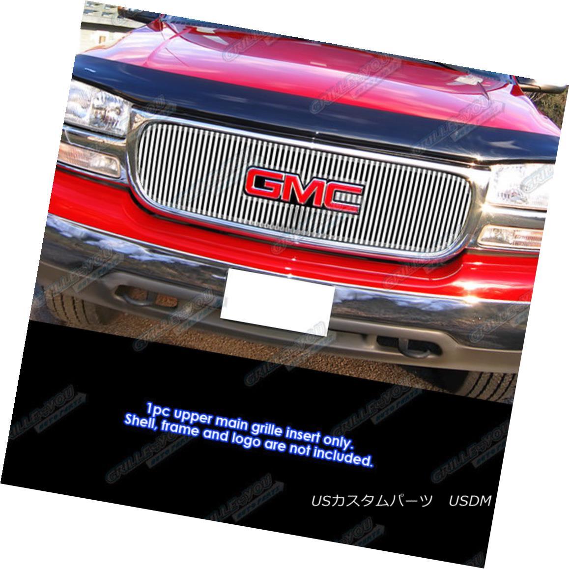 グリル Fits 1999-2000 GMC Sierra 1500/2001-2006 Yukon Denali Perimeter Grille 適合1999-2000 GMC Sierra 1500 / 2001-2006ユーコンデナリペリメーターグリル