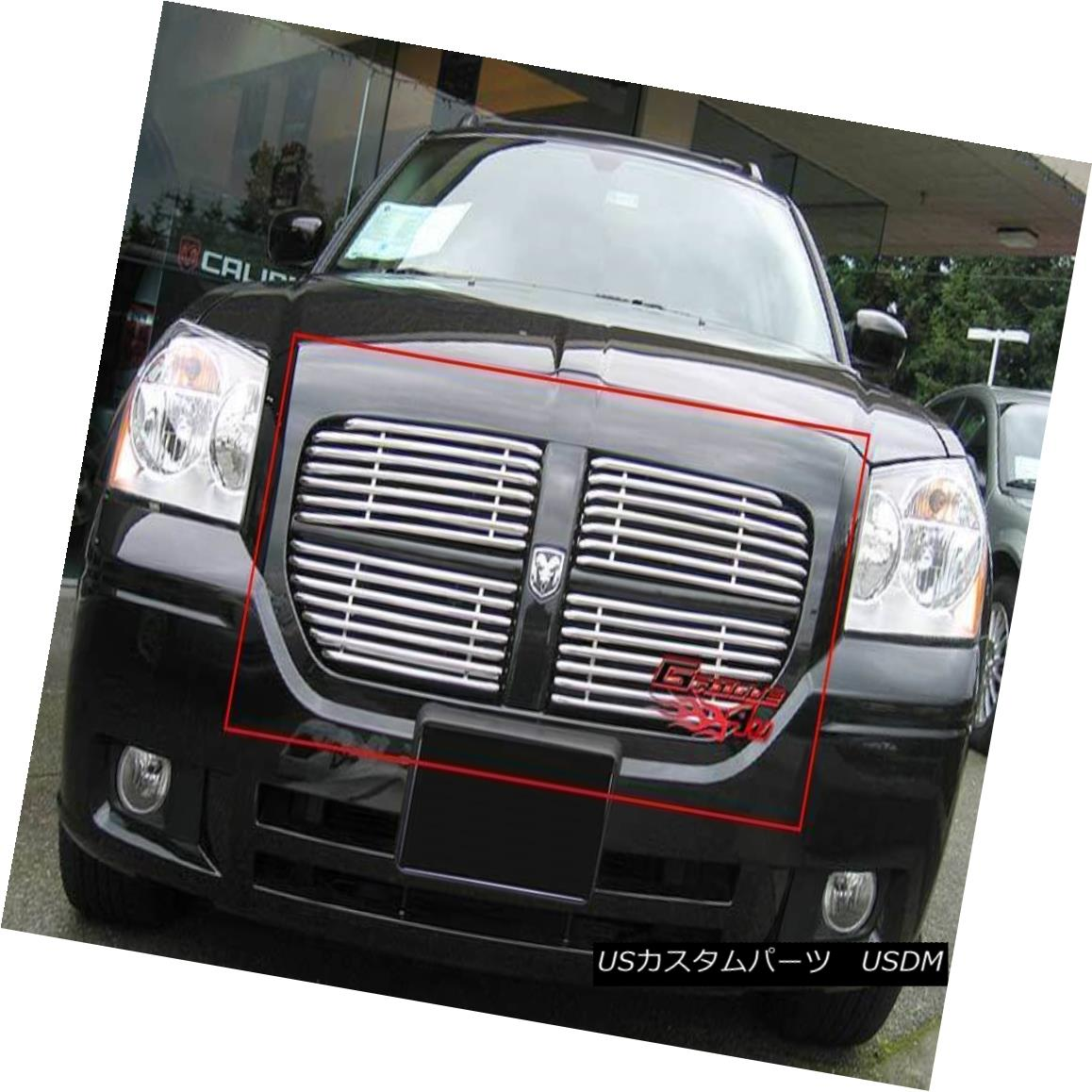 グリル Fits 2005-2007 Dodge Magnum Stainless Steel Tubular Grille 2005-2007 Dodge Magnumステンレス鋼管のグリルに適合