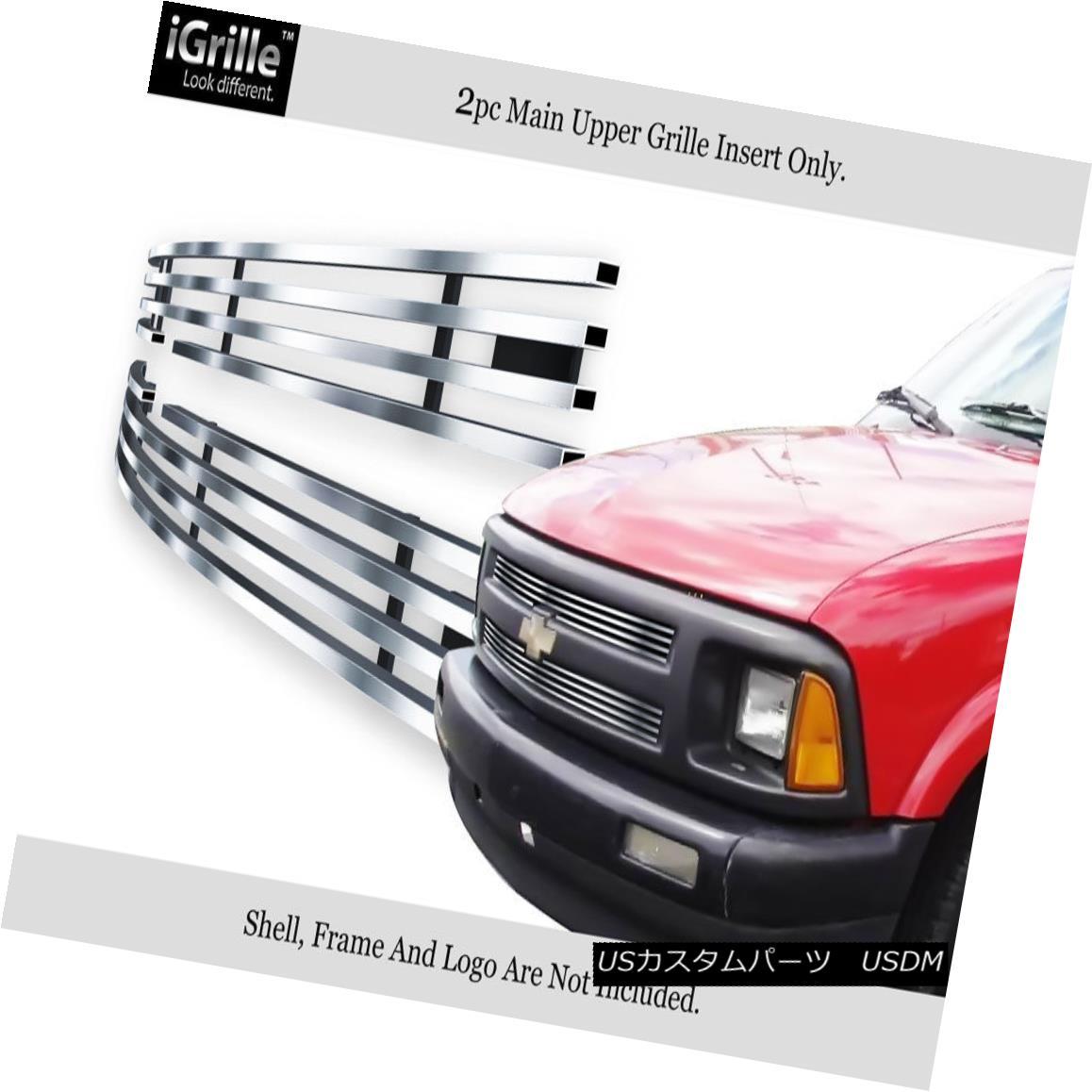 グリル For 1994-1997 Chevy S-10 S10 Pickup Stainless Steel Billet Grille Insert 1994-1997シボレーS-10 S10ピックアップ用ステンレス鋼ビレットグリルインサート