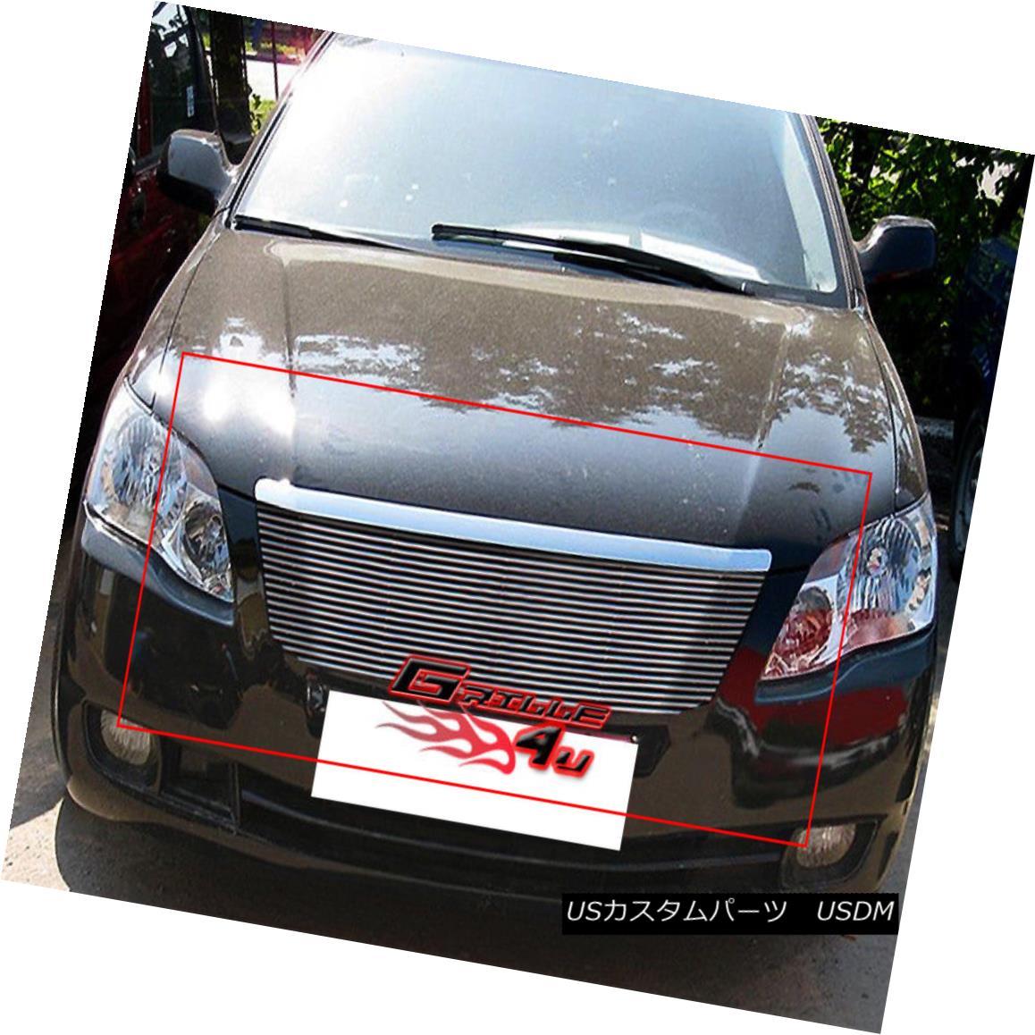 グリル Fits 2006-2007 Toyota Avalon Billet Grille Insert 2006-2007トヨタアバロンビレットグリルインサートに適合