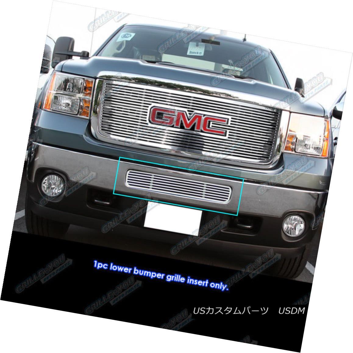 グリル Fits 2011-2014 GMC Sierra 2500HD/3500HD Bumper Perimeter Grille Grill Insert 2011-2014 GMC Sierra 2500HD / 3500HDバンパーペリメーターグリルグリルインサート