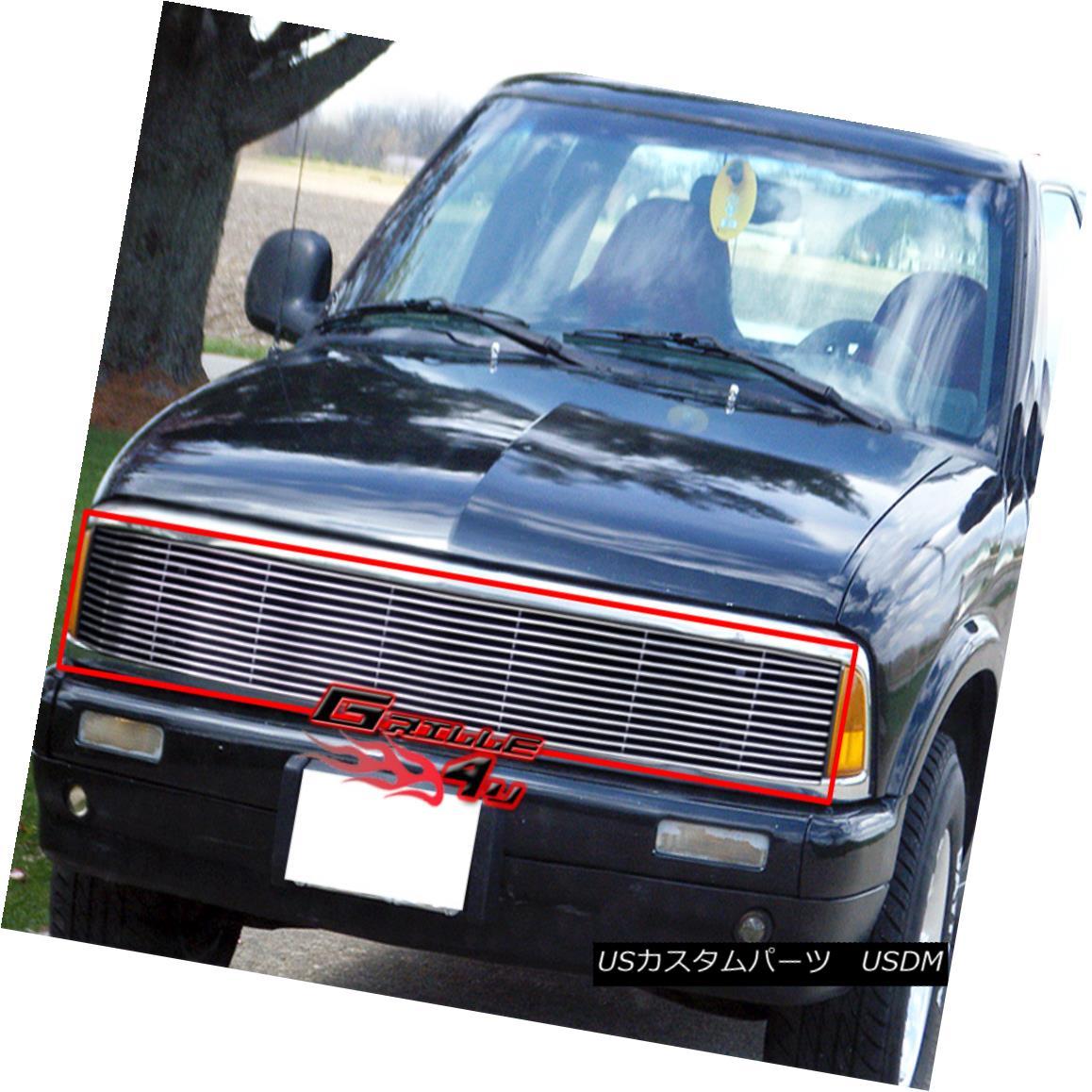 グリル Fits 1994-1997 Chevy S10/Blazer Phantom Billet Grille Insert 1994-1997 Chevy S10 / Blazer Phantom Billet Grille Insertに適合