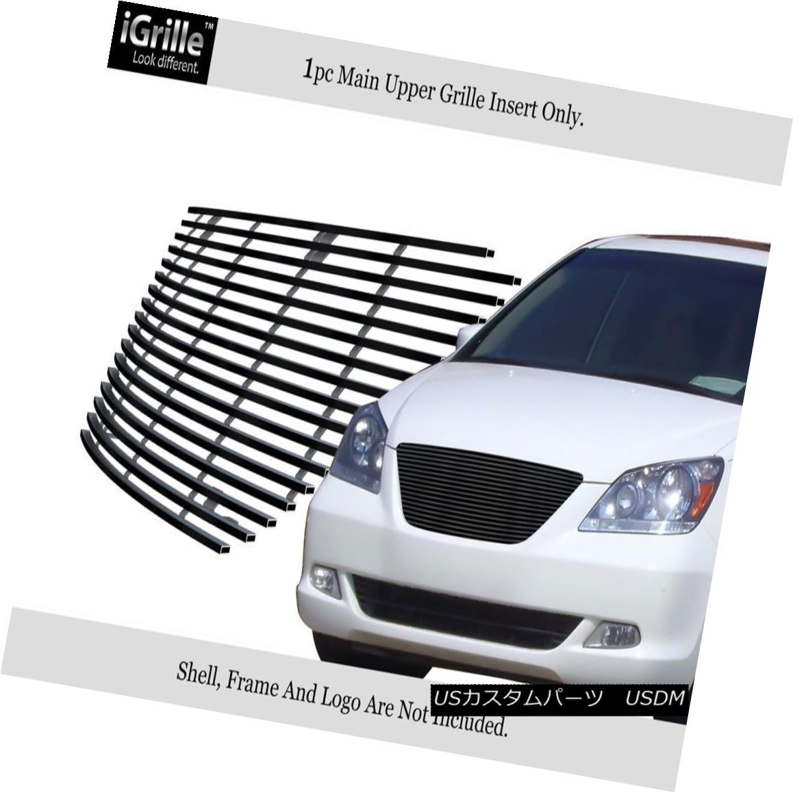 Fits 08-10 Honda Odyssey Stainless Mesh Grille Insert