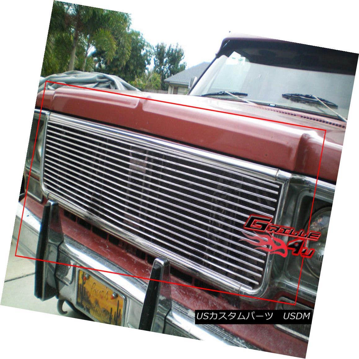 グリル Fits 1973-1980 Chevy C/K Pickup/Suburban/Blazer Billet Grille 1973-1980 Chevy C / K Pickup / Suburba n / Blazer Billet Grilleに適合