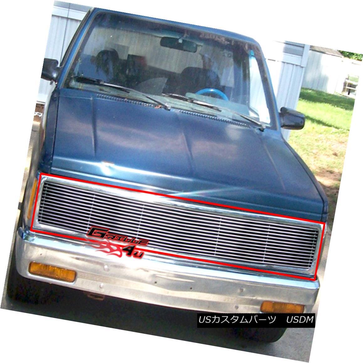 グリル Fits 1991-1993 Chevy S10/Blazer 1991-1994 Jimmy Phantom Billet Grill 適合1991-1993 Chevy S10 / Blazer 1991-1994ジミーファントムビレットグリル