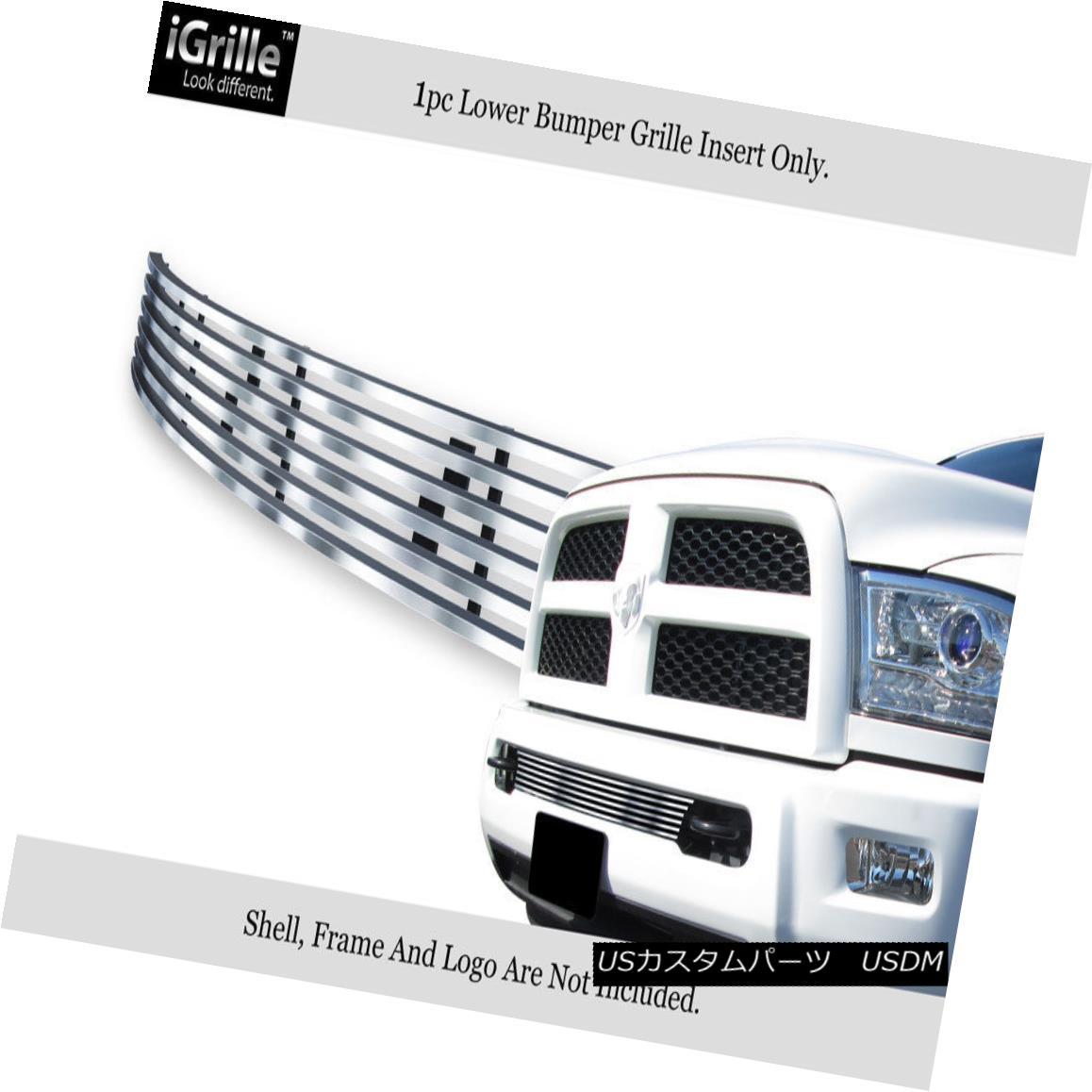 Bumper Insert Ram Fits Ram Stainless グリル 2500/3500バンパーステンレス鋼ビレットグリルインサート 2013-2017 Grille Steel Billet 2500/3500 2013-2017