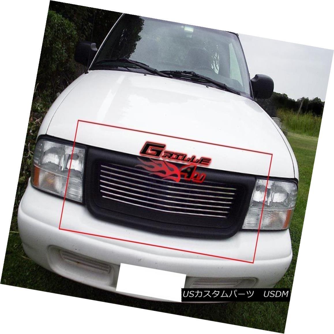 グリル Fits 98-03 GMC S-15 Pickup/Jimmy/Sonoma Main Upper Billet Grille Insert フィット98?03 GMC S-15ピックアップ/ジミー/スウェーデン製メインアッパービレットグリルインサート