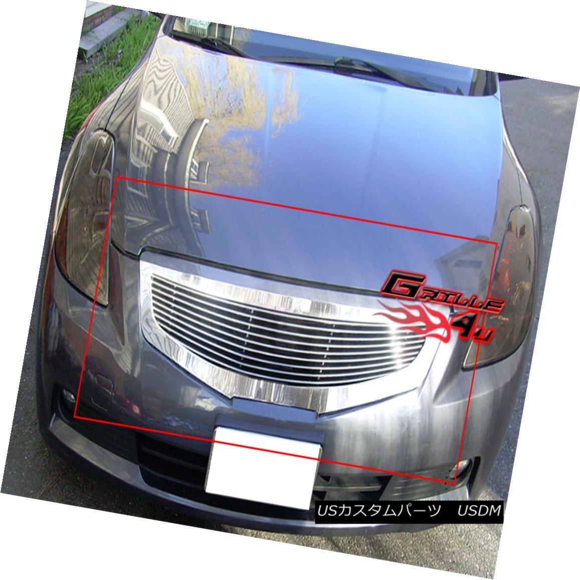 グリル Fits 2007-2009 Nissan Altima Billet Grille Insert フィット2007-2009日産アルティマビレットグリルインサート